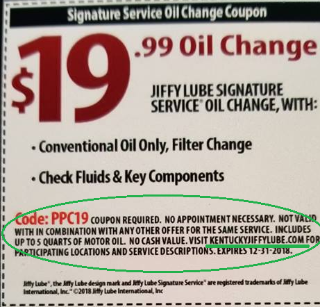 Jiffy Lube Oil Change >> A Note From Coo Lonnie Hinkle To The Allen County News Buzz Team